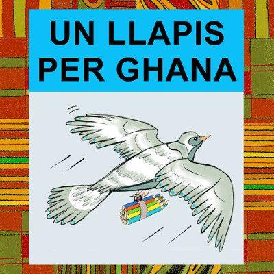 Un llapis per Ghana